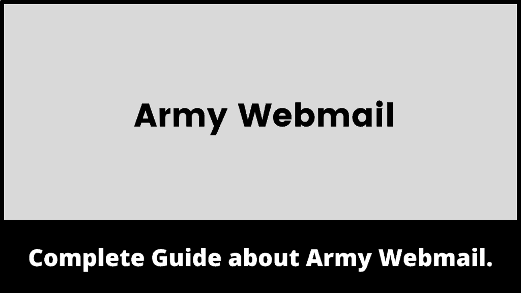 Army Webmail