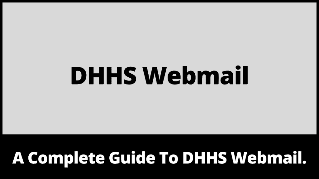 DHHS Webmail