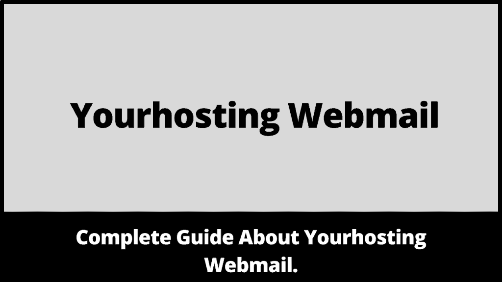 Yourhosting Webmail
