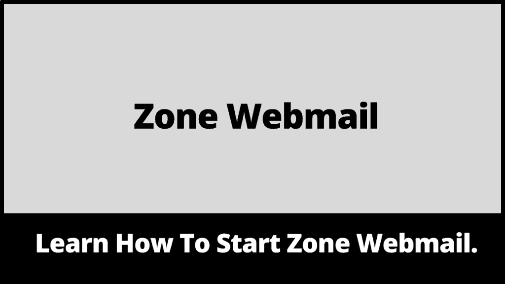 Zone Webmail